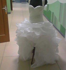 Свадебное платье Канкан
