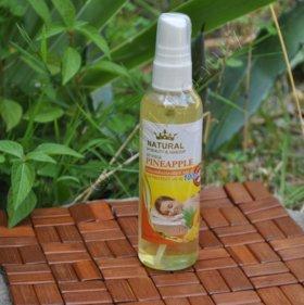 Массажное масло с экстрактом Магостина и Ананаса