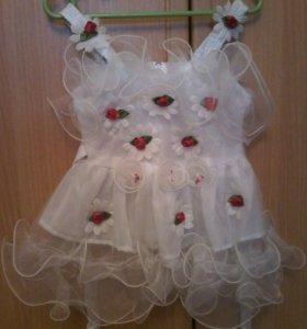 Платье нарядное б/у
