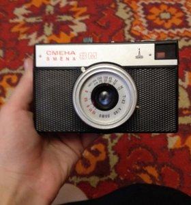 Фотоаппарат  СМЕНА 8м, с чехлом