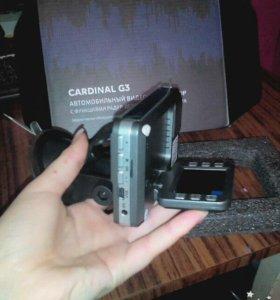 CARDINAL G3 Автомобильный видеорегистратор.