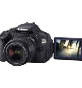 Цифровой зеркальный фотоаппарат canon 600d