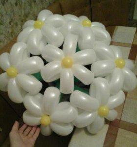 Фигуры из шариков. гелиевые шары