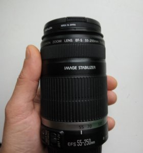 Обьектив Canon EF-S 55-250mm IS