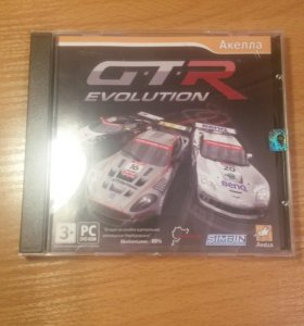 "Комп. игра ,,GTR evolution""."