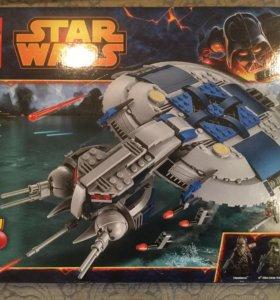 Лего звёздные войны 75042 дроид Ganship