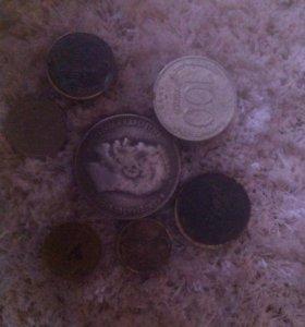 На продажу монеты