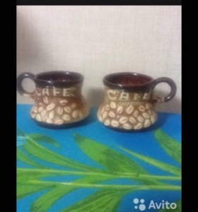 Необычная кофейная пара))) Цена за обе кружки