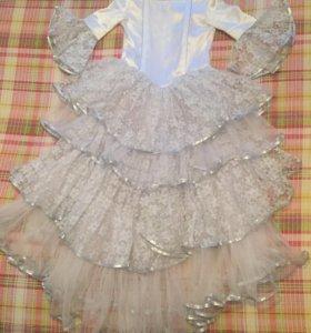 Платье принцессы рост~134-146см.