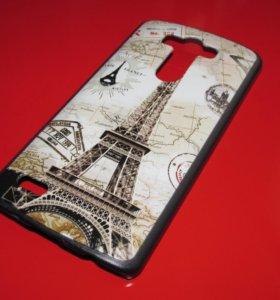Пластиковый чехол Paris на LG G3 Optimus