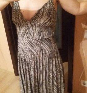платье коктейльное вечернее