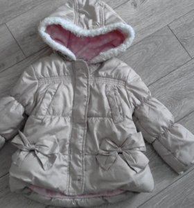 Куртка теплая 80 р - р