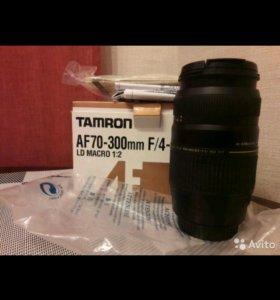 Новый объектив Tamron AF70-300mm