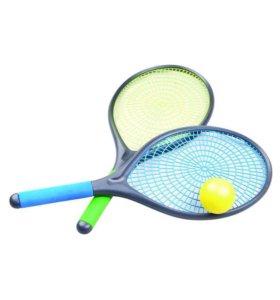 Набор для пляжного тенниса (2 ракетки+ мяч)
