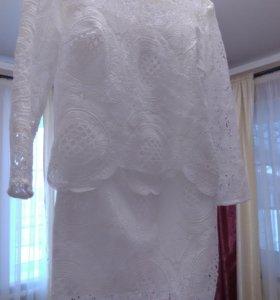 Костюм. Юбка и блузка