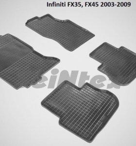 Автоковрики Infiniti FX35,FX45 2003-2009г