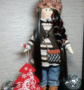 Интерьерные куклы ручной работы