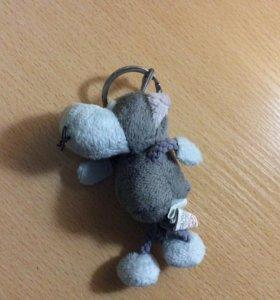 Игрушка для детей, брелок мышь