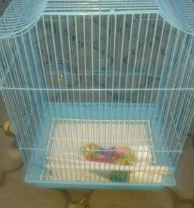 Для попугая клетка