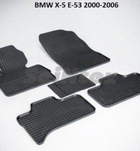 Автоковрики BMW X-5 E-53 2000-2006г
