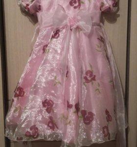 Платье пышное на девочку