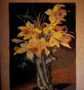 Картина из бисера ручная работа