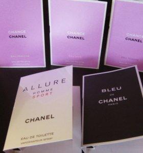 Миниатюры туалетной воды Chanel /Шанель