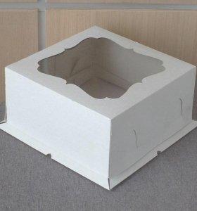 Коробка для торта 21х21
