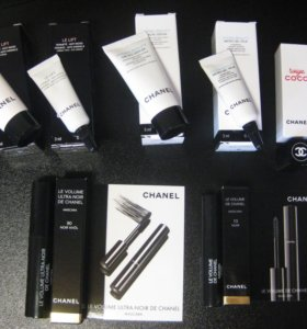 Миниатюры косметики Chanel /Шанель
