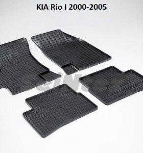 Автоковрики Kia Rio 1 2000-2005г