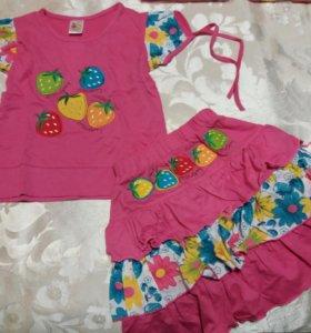 Детские новые костюмчики разных размеров и цветов