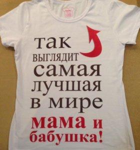 Новая женская футболка