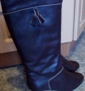 Сапоги зимние, туфли