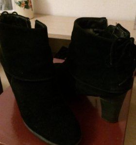 Ботинки зимние, натур. мех