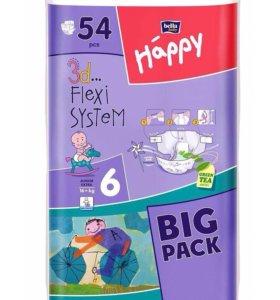 Подгузники Bella Baby Happy 6 (16+ кг), 54 шт