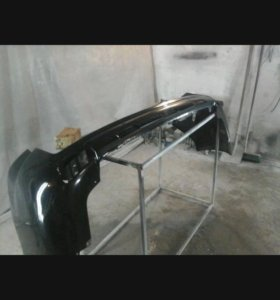 бампер задний от лендкрузер прада 150