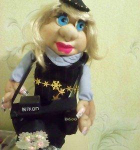 Кукла фотограф