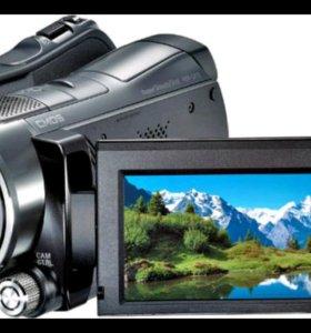 Видеокамера Sony HDR-SR12E+ широкоугольный объекти
