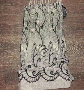 Легкий декоративный шарф