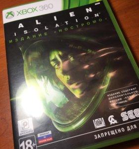Диск на Xbox 360 alien isolation sega