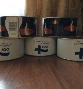 Финские уличные свечи