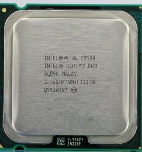 Процессор Intel core 2 duo e8500