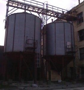 Силосы зерна 170 м3