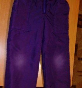 Теплые штаны рос.качества рост.116