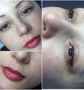 Перманентный макияж ,микроблейдинг