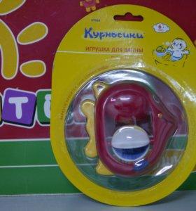 Игрушка для ванной Рыбка-вертушка Курносики