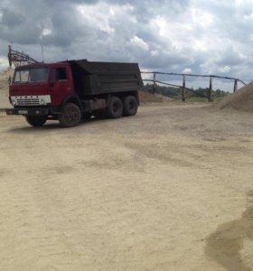 Доставка песка, отсев,гпс,щебень,глина,земля