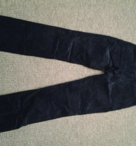 Вильветовые брюки жен