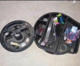 Крышка по запасное колесо на мерседес w203 кузов