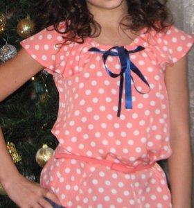 Блузка для девочки 12-14 лет